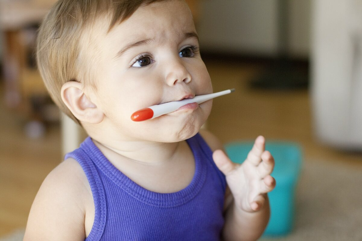 fièvre des dents gencive