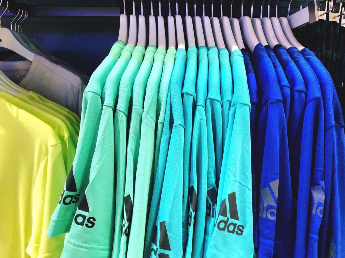 maillots de sport réutilisé