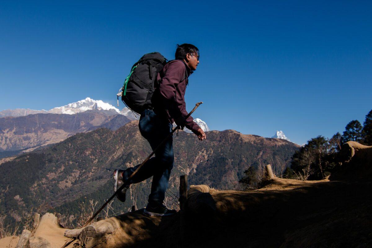 trek en montagne